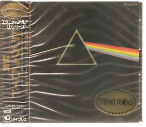 PINK-FLOYD-034-The-Dark-Side-Of-The-Moon-034-1989-Japan-Eternity-Gold-CD-sealed