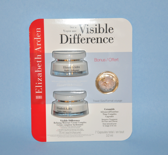 Elizabeth Arden Visible Difference Refining Moisture Cream Complex + Bonus NuMoon Naturals Vitamin C and Hyaluronic Acid Serum with Vitamin E 2 Oz Anti Aging Serums Antioxidant Skin Treatment