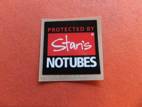 "1/"" STANS NO TUBES Red//Wht Bike Ride Road Hike Run Outdoor Bicycle STICKER DECAL"