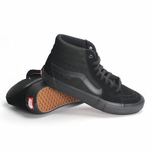 Details about Vans Sk8-Hi Pro Men's Skate Shoes Blackout VN000VHG1OJ $70
