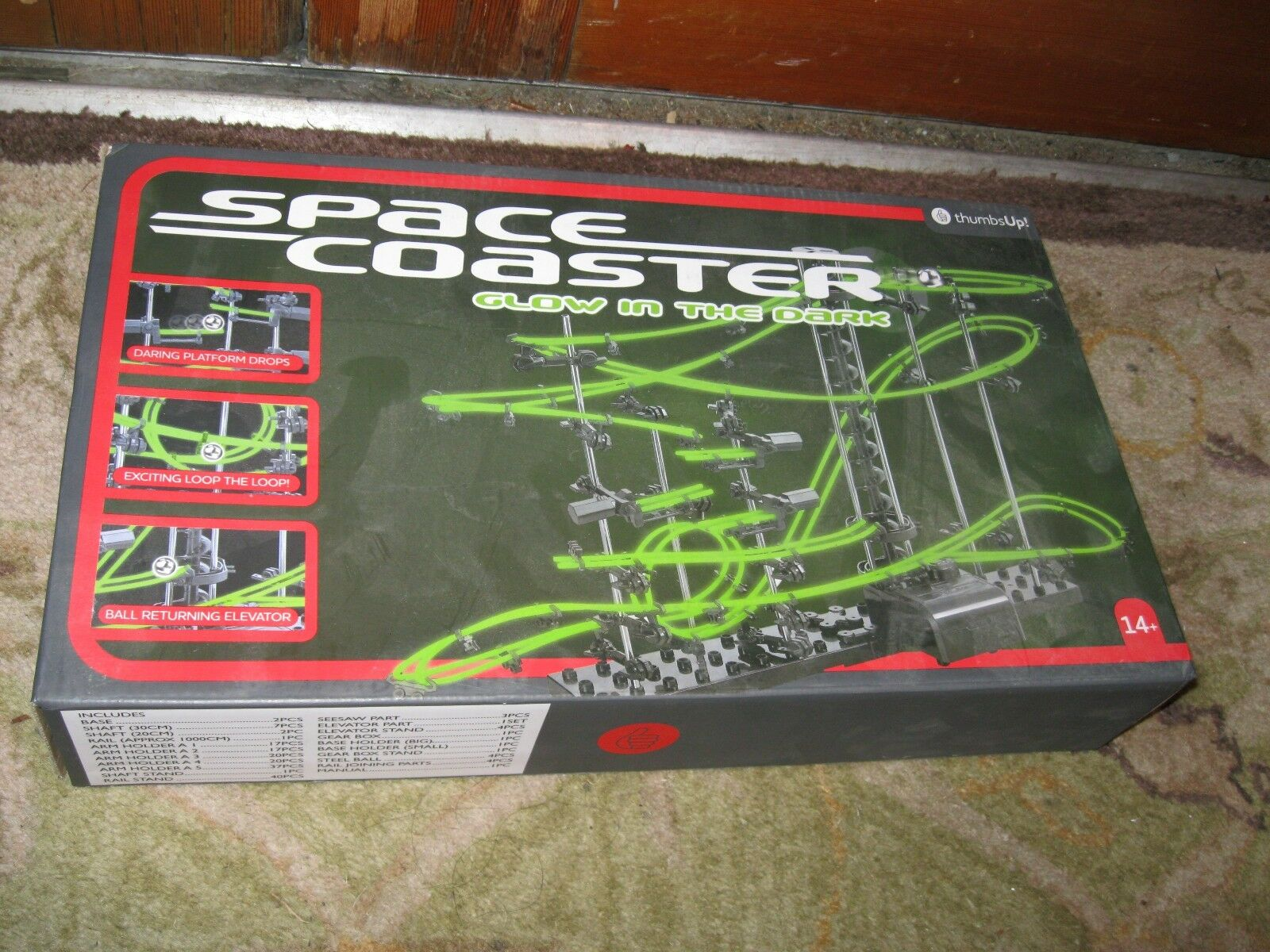 Space Rail Marble Roller Coaster Ball NEW IN BOX