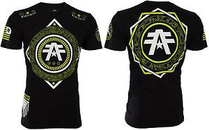 AMERICAN FIGHTER Mens T-Shirt HENDRIX Athletic BLACK Biker Gym MMA UFC $40
