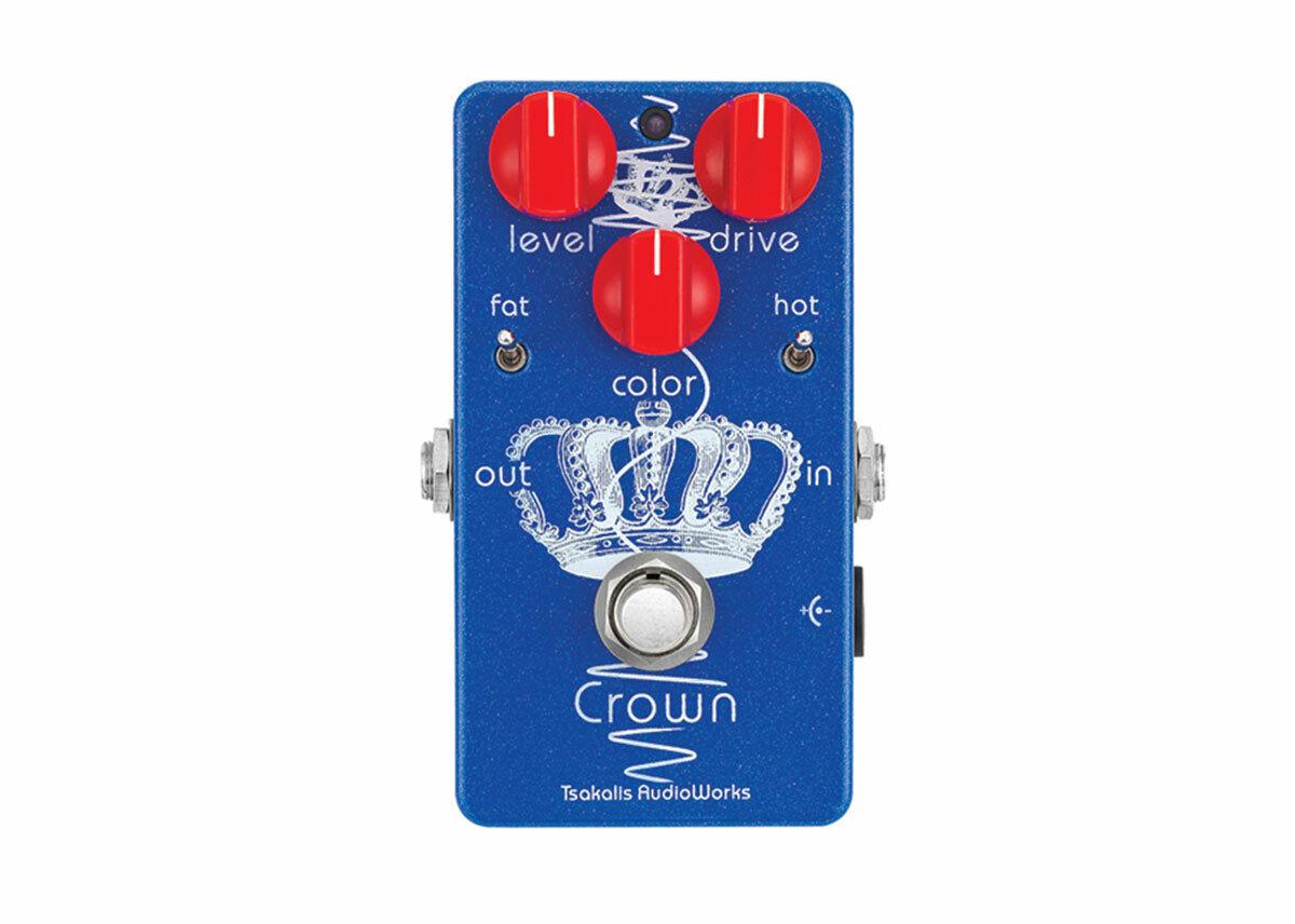 Tsakalis Audio Works Crown British Overdrive