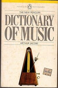 The-Penguin-Dictionary-of-Music-by-Arthur-Jacobs-Paperback-1986-4th-Edition
