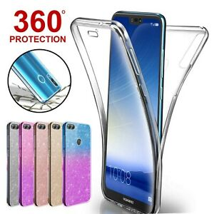 Case-For-Huawei-P20-P30-Pro-Mate-Lite-P-Smart-Covr-360-Hybrid-Shockprof-Silicone