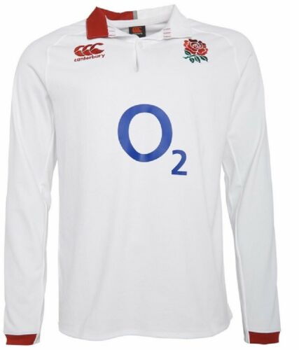 Canterbury Mens England Rugby VapoDri Home Classic Jersey Large