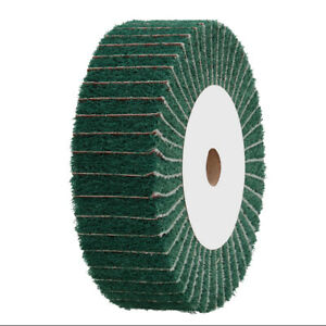 4-034-12-034-Nylon-Fabric-Flap-Polishing-Wheel-Fiber-Non-woven-for-Buffing-Metal-Wood
