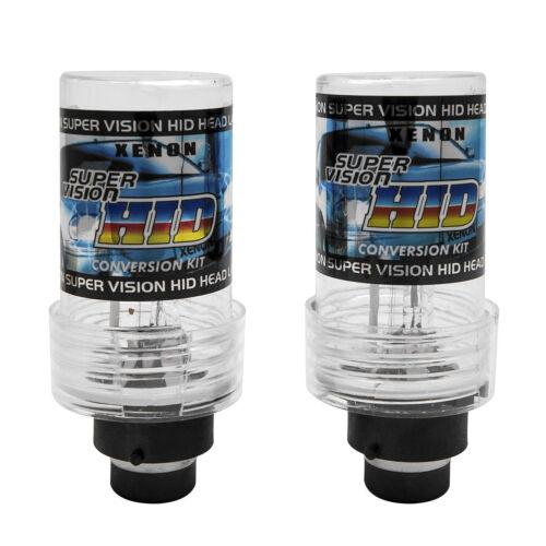 2 x D2S 85122 Xenon HID Faros Bombillas Lámparas Luces luz Par 6000K //35W blanco