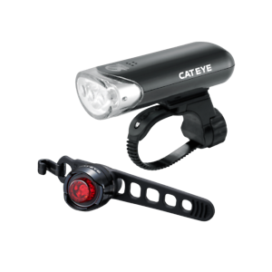 CatEye EL135 Front & Orb Rear Light Set