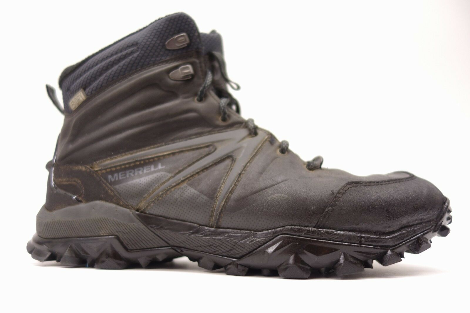Merrell Mens Capra Rapid Glacial Ice+ Mid Athletic Support Boots Shoes Size 10.5