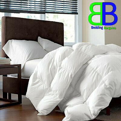10.5 /& 4.5 Quilt All Sizes Luxury Duck Feather /& Down Duvet All Season 15 tog