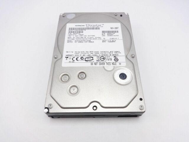 "Hitachi 0A35771 750GB SATA 7.2K 3.5"" 3.0 Gb/s hard drive HUA721075KLA330"