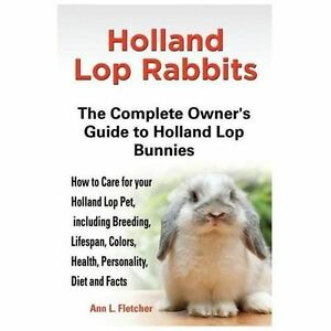 Holland Lop Rabbits : The Complete Owner's Guide to Holland