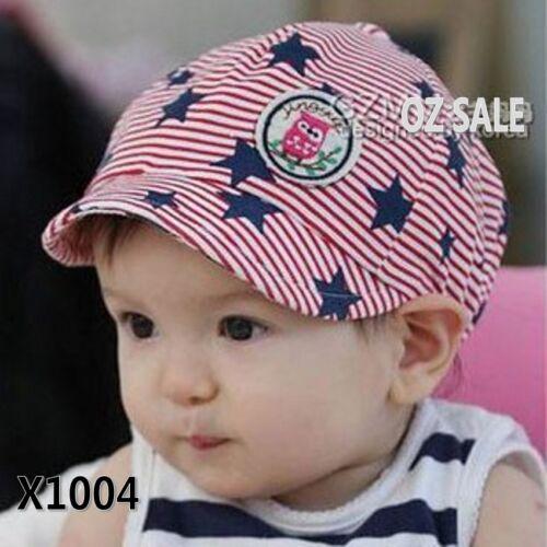 Baby Girls Kids children Boys Infant Beret hunting star Beanie hat Cap baby gift