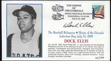 Dock Ellis Autographed First Day Cover MLI/COA