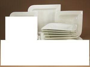 Tafel 6 Personen : Pacific weiss tafel service 6 personen 18tlg porzellan geschirr set