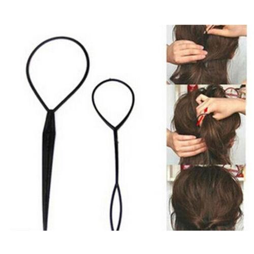 Haar Twist Styling Clip Stick Bun Maker Braid Werkzeug Zubehör WRZP