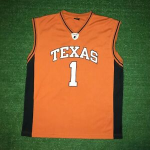 lowest price 02f93 4e739 Details about NCAA Starter University Of Texas Longhorns Orange Basketball  Jersey Size - XL