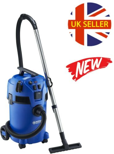 Wet & Dry Vacuum with Power Tool Take Off, 22L, 1400W, Indoor & Outdoor, UK *NEW