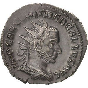 Roma 252 Au Antoninianus 50-53 Trebonianus Gallus Billon #409811 Cooperative Ric:38 Cheap Sales 50%