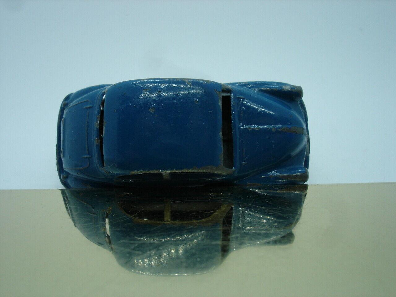 MATCHBOX 1-75 Petit Moko Lesney nº 46 a Morris Minor 1000 1958 54 mm grisepr Bleu