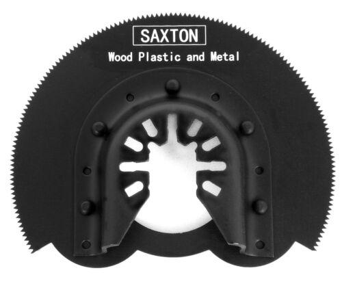 5x Saxton 80mm Segmented Blade for Stanley Black Decker Oscillating Multitool