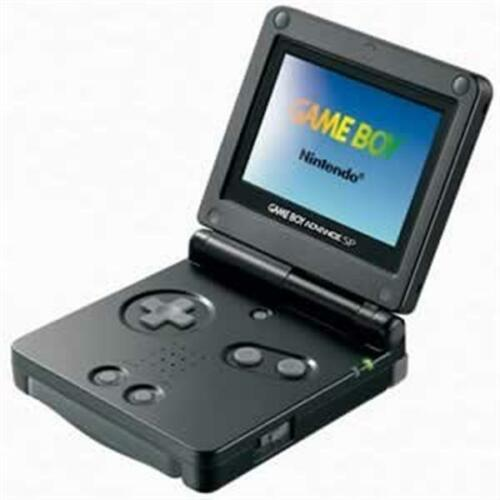 Game Boy Advance Sp : Nintendo game boy advance sp launch edition onyx black