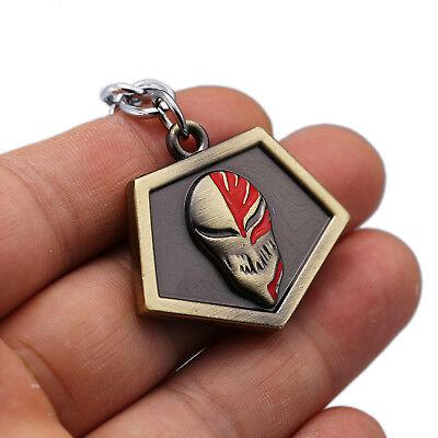 Anime Bleach Kurosaki ichigo Pass Keychain Bronze Alloy Charm Pendant