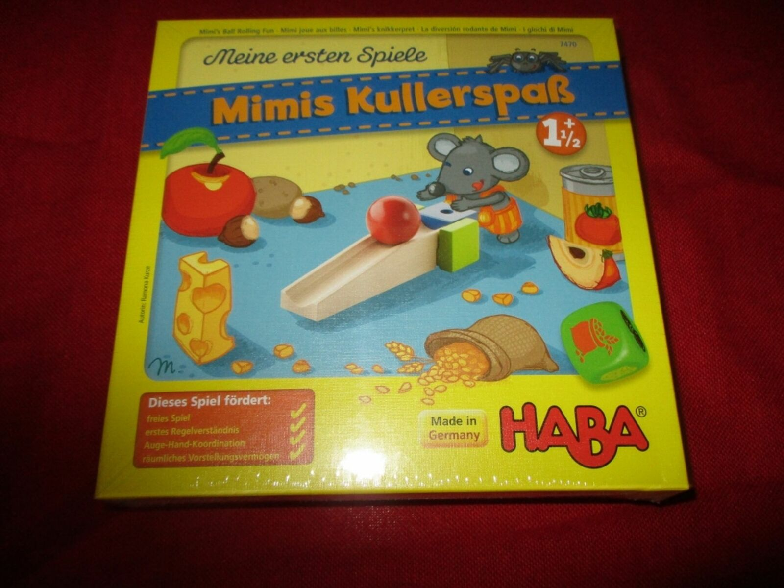 HABA®  7470 Kinderspiel Mimis Kullerspaß NEU OVP  a buon mercato