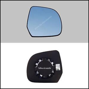 Specchio retrovisore NISSAN Note piastra aggancio+vetro destro