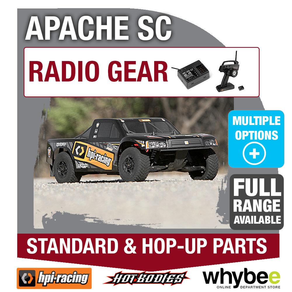 Hpi - sc bewegung [radio gang] echte hpi - r   c standard & spring rauf teile