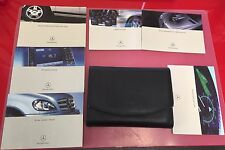 M-CLASS 2003 MERCEDES-BENZ OWNERS MANUAL BOOK SET WITH LEATHER CASE+FREE SHIP