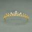 Bridal-Princess-Party-Crystal-Tiara-Wedding-Crown-Veil-Hair-Accessory-Headband thumbnail 14