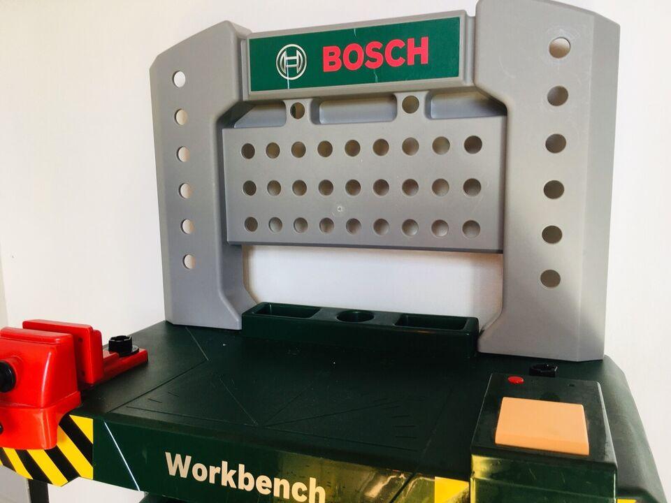 Værktøjsbænk, Værktøjsbænk med værktøj fra Bosch, Bosch