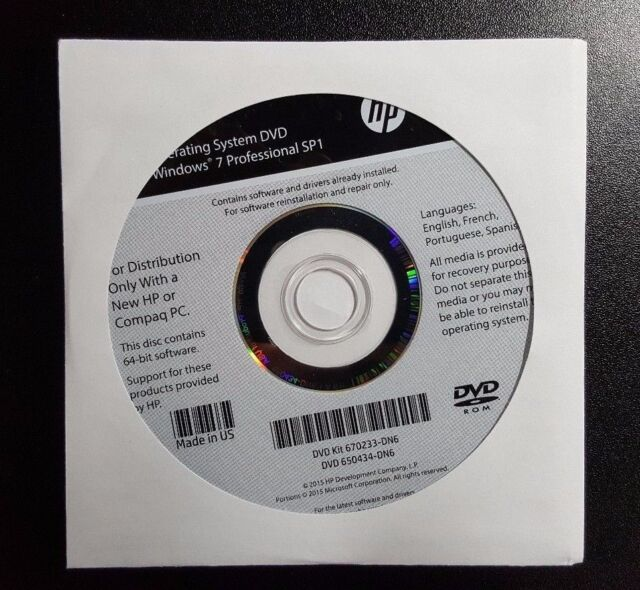 Dell Recovery Restore Disc Dvd Windows  Sp Home Premium