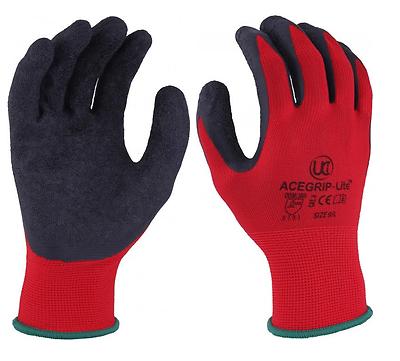 Pu Noir pcp-b UCI précis palm coated sécurité gants de travail taille 11
