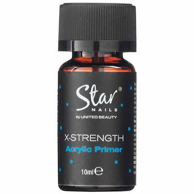 Star Nails X-Strength Acrylic Primer 10ml - Super Strong, Prevents Lifting
