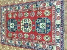 4' x 6' Kazak Patchwork Vibrant Lowest Price Area Rugs Handmade Rug