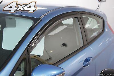 For Ford Fiesta Mk7 2009 - 2017 3 Door Hatchback Or St Wind Deflectors Set 2pc Volume Groot