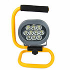 60W Portable Cordless Work Spot Light Rechargeable 10 LED Flood Camping Hiking