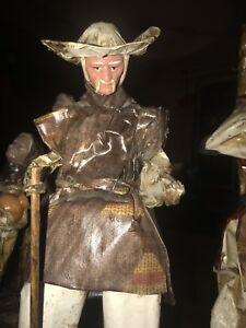 Vintafe Folk Art Paper Mache Figurines Aromatic Flavor Antiques Decorative Arts