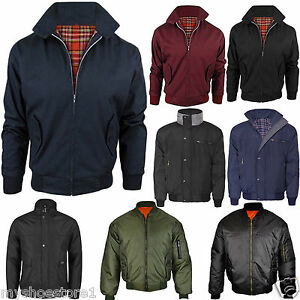 MENS-BOYS-GENTS-JACKET-WINTER-BIKER-CLASSIC-VINTAGE-BOMBER-WORK-SECURITY-COAT