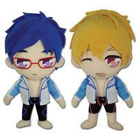 Anime Series Free (set Of 2) - Nagisa Hazuki & Rei Ryugazaki Ge Stuffed Plush