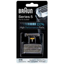 Braun 51S Replacement Foil & Cutter Series 5 Activator ContourPro 360 Complete 8