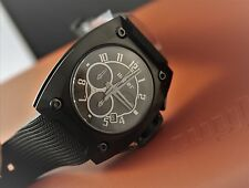 NEW WYLER Genève CODE R PVD CHRONOGRAPH AUTOMATIC WATCH