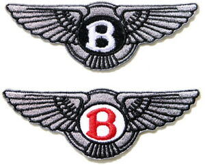 Patch-Iron-on-Sew-Embroidered-for-BENTLEY-Car-Polo-T-shirt-Cap-Badge-Logo-Emblem