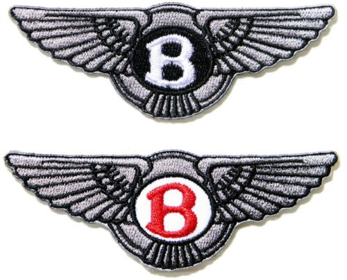 Patch Iron on Sew Embroidered for BENTLEY Car Polo T shirt Cap Badge Logo Emblem