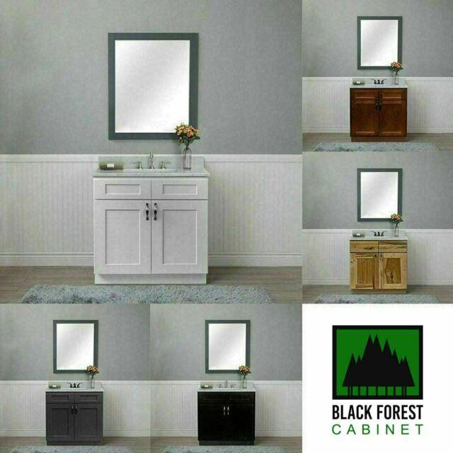 Vanity Cabinet Solid Wood Albright 19