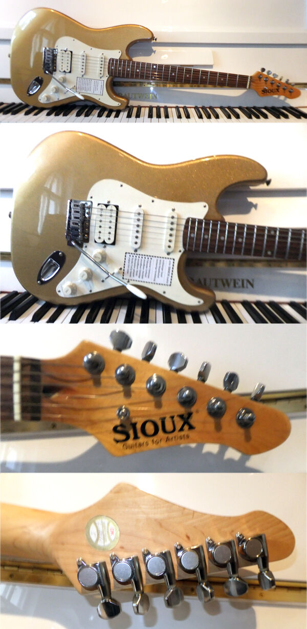 SIOUX VIG16-G SSH Vintage HSS FAT Gold - made in Korea