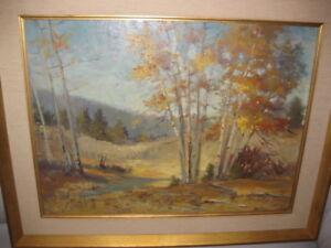 Vernon Kerr Original Painting Listed California Artist Ebay